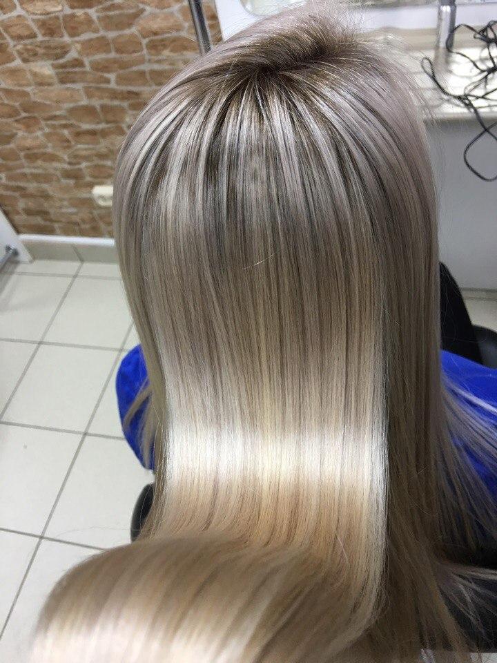 Фотки милированных волос смотреть